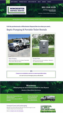 Winchester Disposal Service - New Website